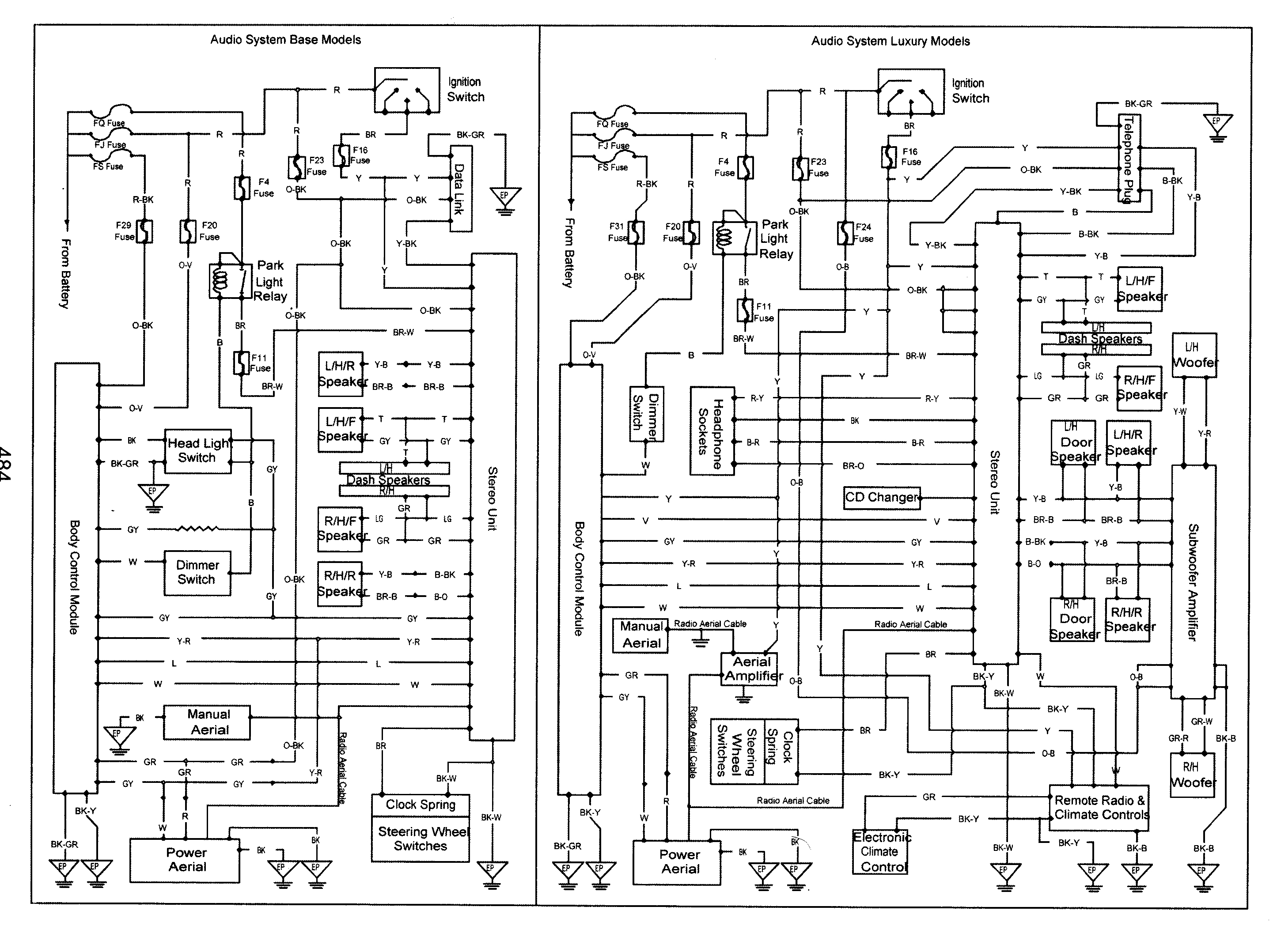 Full Vt Vy Gen 3 Wiring Diagrams